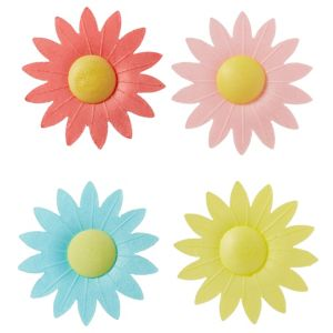 Daisy Icing Decorations 17ct