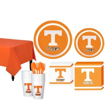 Tennessee Volunteers Basic Party Kit for 16 Guests
