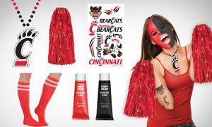 Cincinnati Bearcats Fan Gear Kit