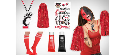 Cincinnati Bearcats Fan Gear Kit