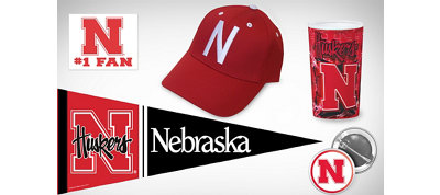 Nebraska Cornhuskers Collegiate Care Package