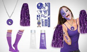 Northwestern Wildcats Fan Gear Kit