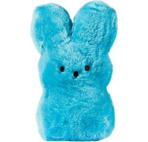 Large Blue Peeps Bunny Plush