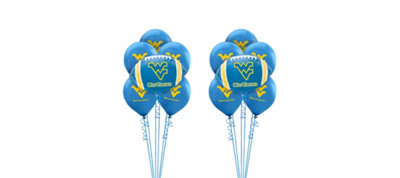 West Virginia Mountaineers Balloon Kit
