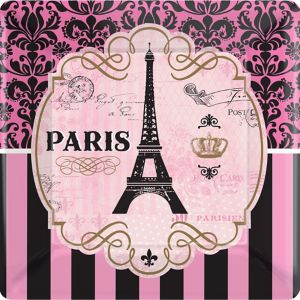 A Day in Paris Dinner Plates 8ct