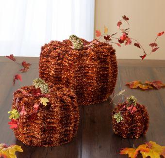 Tinsel Fall Decorating Kit