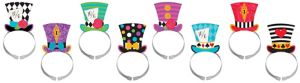 Mad Tea Party Headbands 8ct