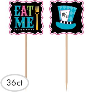 Mad Tea Party Party Picks 36ct