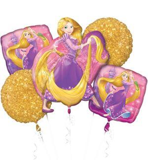 Rapunzel Balloon Bouquet 5pc