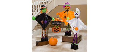 Giggling Halloween Friends Decorating Kit