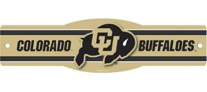 Colorado Buffaloes Street Sign