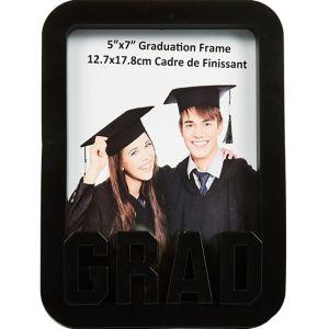 Black Grad Photo Frame
