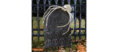 Pet Cemetery Spider Decorating Kit