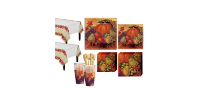 Harvest Still Life Fall Tableware Kit for 16 Guests