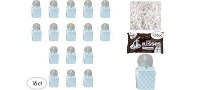 Blue Elephant Premium Baby Shower Favor Kit