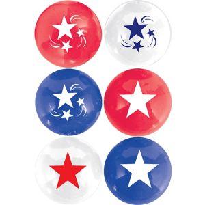 Patriotic Pong Balls 6ct