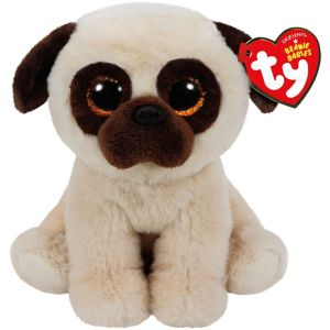 Rufus Beanie Babies Pug Dog Plush