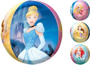 Disney Princess Balloon - See Thru Orbz