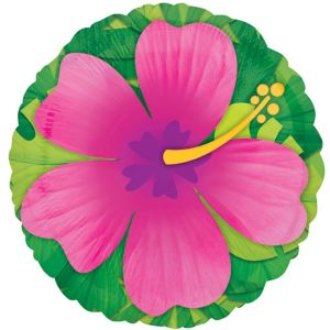 Giant Pink Hibiscus Balloon