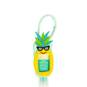 Pineapple Hand Sanitizer with Holder