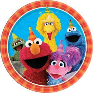 Sesame Street Lunch Plates 8ct