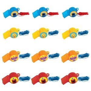 Sesame Street Whistles 12ct