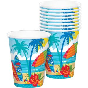 Sun & Surf Beach Cups 18ct
