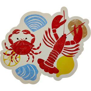 Seafood Fest Cutout