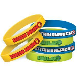 Avengers Wristbands 6ct