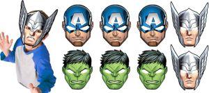 Avengers Masks 8ct
