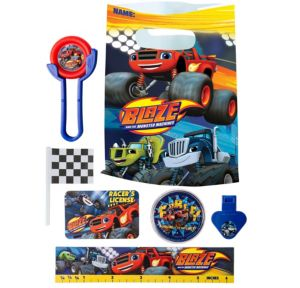 Blaze and the Monster Machines Basic Favor Kit for 8 Guests