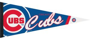 Chicago Cubs Pennant Flag