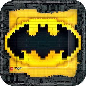 Lego Batman Movie Lunch Plates 8ct