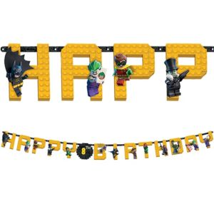 Lego Batman Movie Birthday Banner Kit