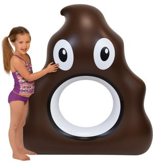 Poop Icon Pool Float