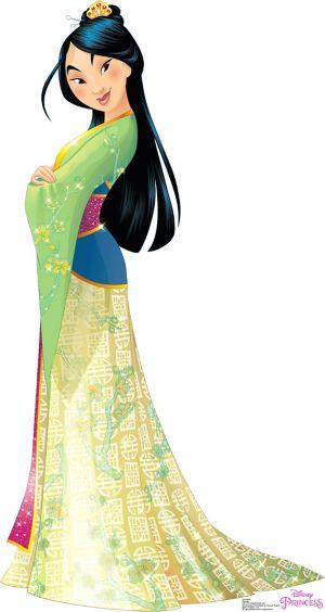 Mulan Life-Size Cardboard Cutout