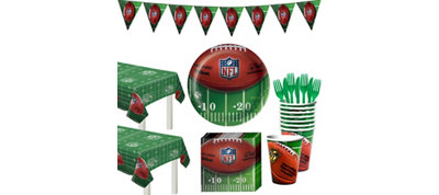 NFL Drive Deluxe Party Kit for 18 Guests