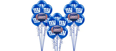 New York Giants Balloon Kit