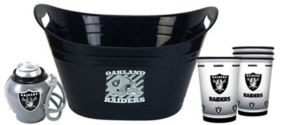 Oakland Raiders Drink Tailgate Kit