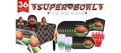 Super Bowl 51 Deluxe Party Kit