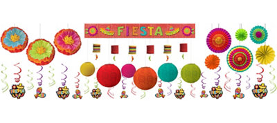 Bright Fiesta Deluxe Decorating Kit