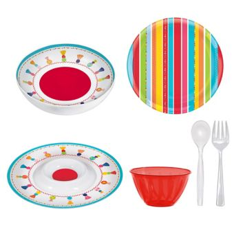 Chips & Dip Fiesta Serveware Kit