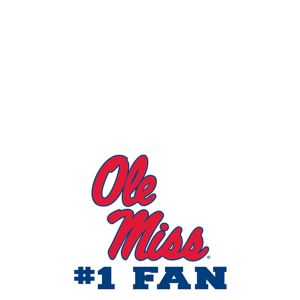 Ole Miss Rebels #1 Fan Decal