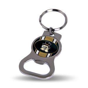 Wake Forest Demon Deacons Bottle Opener Keychain