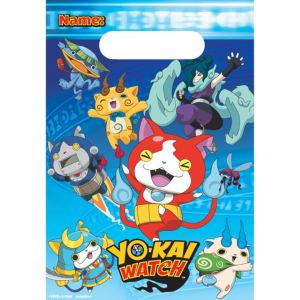 Yo-Kai Watch Favor Bags 8ct
