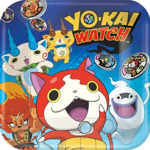 Yo-Kai Watch Lunch Plates 8ct