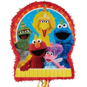 Pull String Sesame Street Pinata