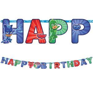 PJ Masks Birthday Banner Kit