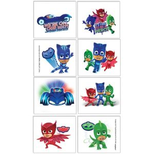 PJ Masks Tattoos 1 Sheet