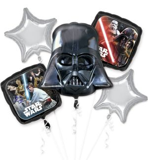 Star Wars Balloon Bouquet 5pc